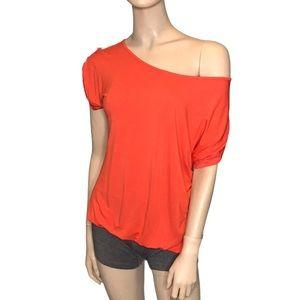 Point Zero Medium Orange Short Sleeve T -Shirt